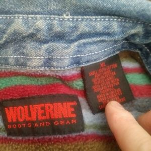 Wolverine Jackets & Coats - Wolverine jean jacket great condition size xl